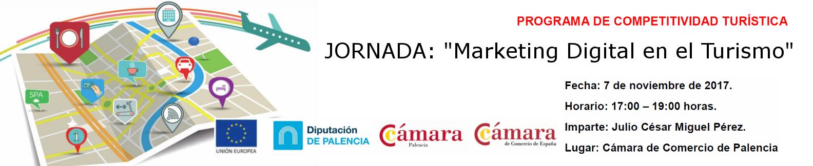 """Jornada: """"Marketing Digital en el Turismo"""""""