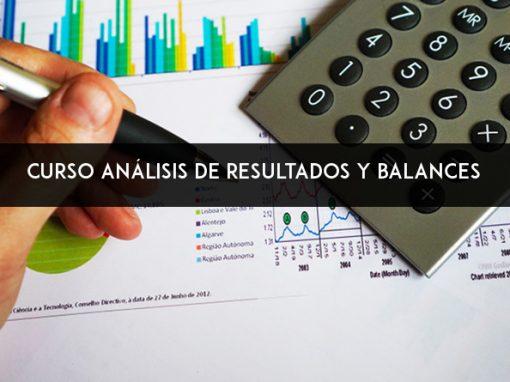 """Curso """"análisis de resultados y balances"""""""