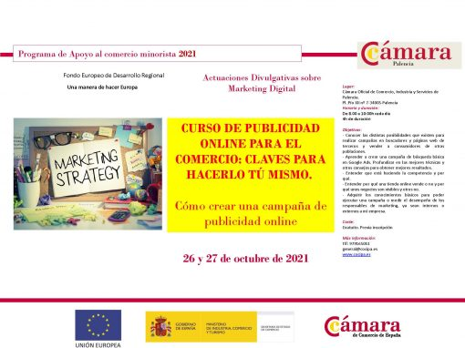 CURSO DE PUBLICIDAD ON LINE PARA EL COMERCIO: CLAVES PARA HACERLO TÚ MISMO